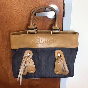 Chloe Denim Handbag
